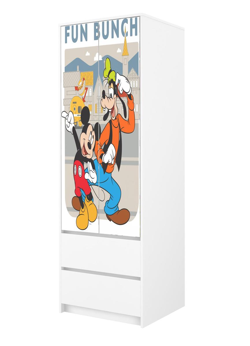 Šatníková skriňa Mickey a kamaráti wardrobe Mouse Pluto