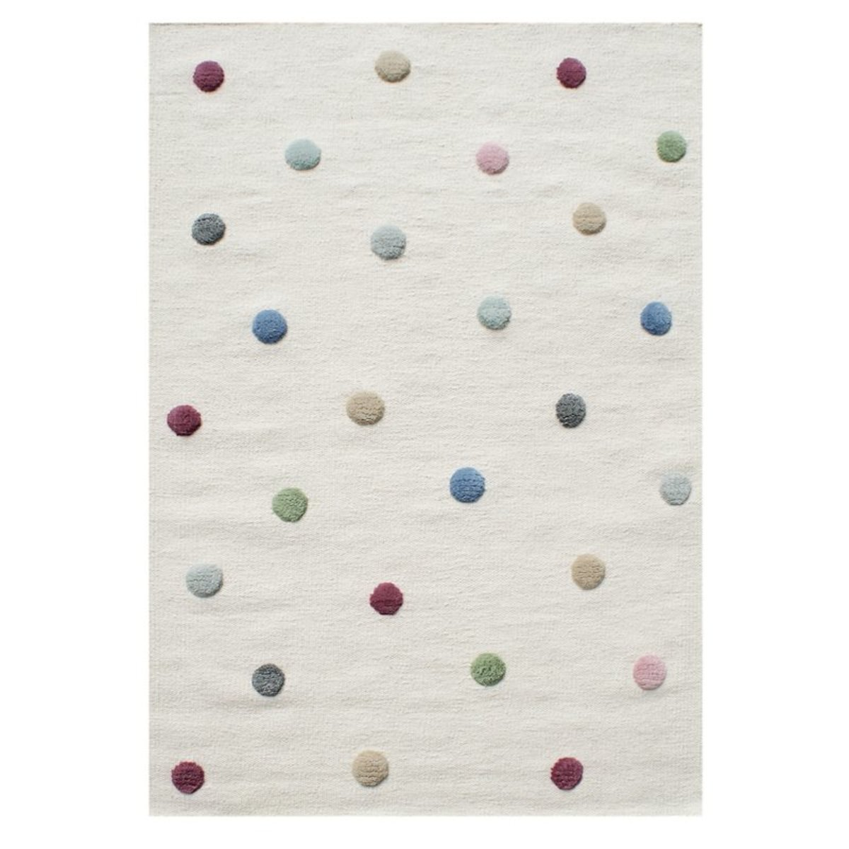 LIVONE Dots 30121-0 120 x 180 cm biela