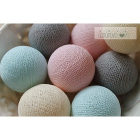 Cotton Balls - powdery, cottonovelove