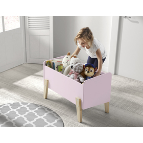 Úložný box Kiddy ružový, VIPACK FURNITURE