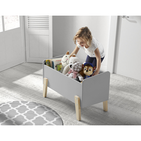 Úložný box Kiddy šedý, VIPACK FURNITURE