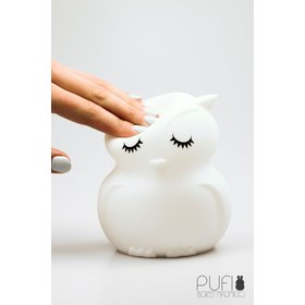 Lampa LED PUFI - sovička, cotton love